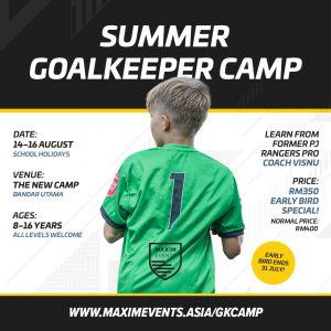 Maxim Events Goalkeeper Camp 2019