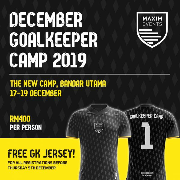 December Goalkeeper Camp at The New Camp